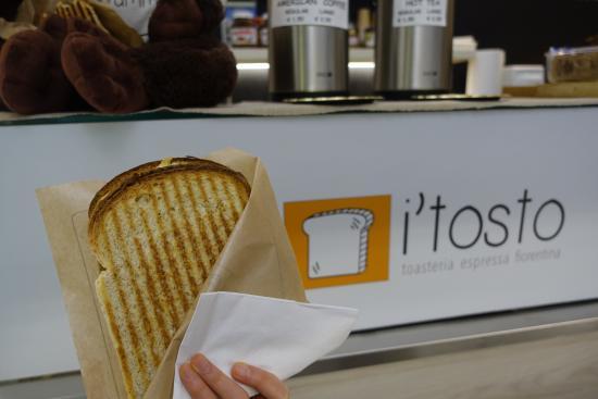 Restaurante I'tosto em Florença