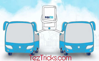 Paytm has came with an bumper offer through which you will get 100 % Cashback on your bus ticket booking . So if you thinking to travel by bus then without wasting your Time further proceed and read below simple steps to get 100% Cashback ( Maximum cashback Rs.100 ). So below are some simple steps to Follow.     How to Get 100% Cashback on Bus Ticket Booking ?   * Visit Paytm Bus Ticket booking page from here.  * fill from where to where you want to go.  * Choose your seat. and proceed & put your Name & Number same as in Id Proof.  * Now Proceed to Pay & apply promo code              - MONSOONBUS.  * Now you can see successful message on your screen that you will get Rs 100 cashback wighin 48hrs.  Boom!! you got your cashback amount within 48hrs . and by following above steps you booked your bus ticket free.  Terms & Conditions:-  1) Users get 100% cashback upto ₹100 on bus ticket bookings 2) No minimum order value. 3) Offer valid only for All users of Bus Tickets bookings. 4) Cashback will be credited within 24 hours of the transaction. 5) The user needs to have verified mobile number on Paytm to get cash back.