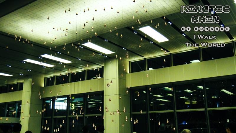 I Walk the World: Kinetic Rain @ Terminal 1 (T1), Changi ...