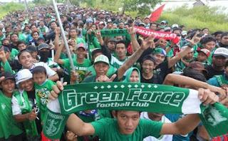 Bonek Persebaya Surabaya Sudah Merapat ke Bandung