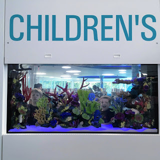 New Carrollton Library Aquarium