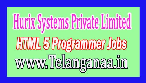 Hurix Systems Pvt Ltd  HTML 5 Programmer Job Openings at Pune