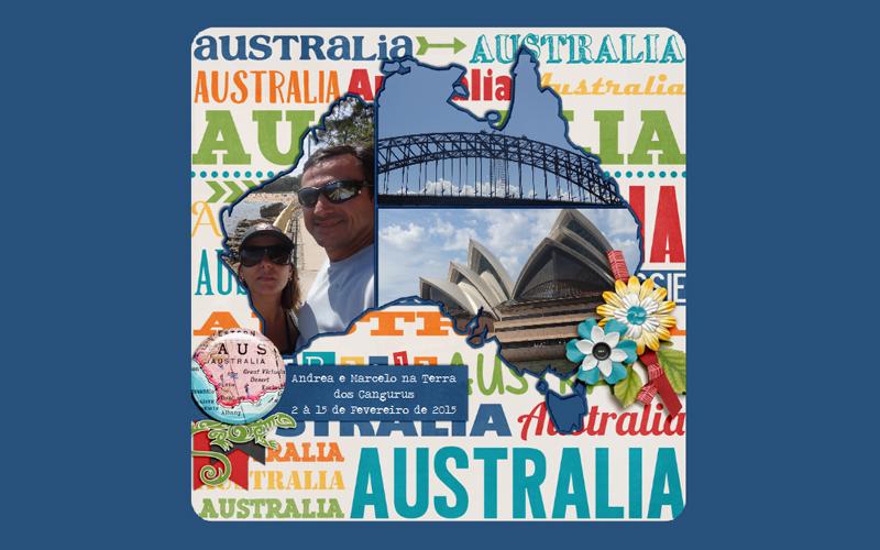 Australia, Sydney, Fotolivro