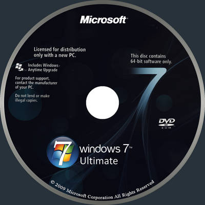 Windows 7 ultimate disc by yaxxe on deviantart, all in one 32 64.