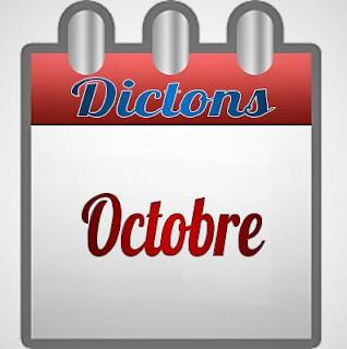 Dictons octobre