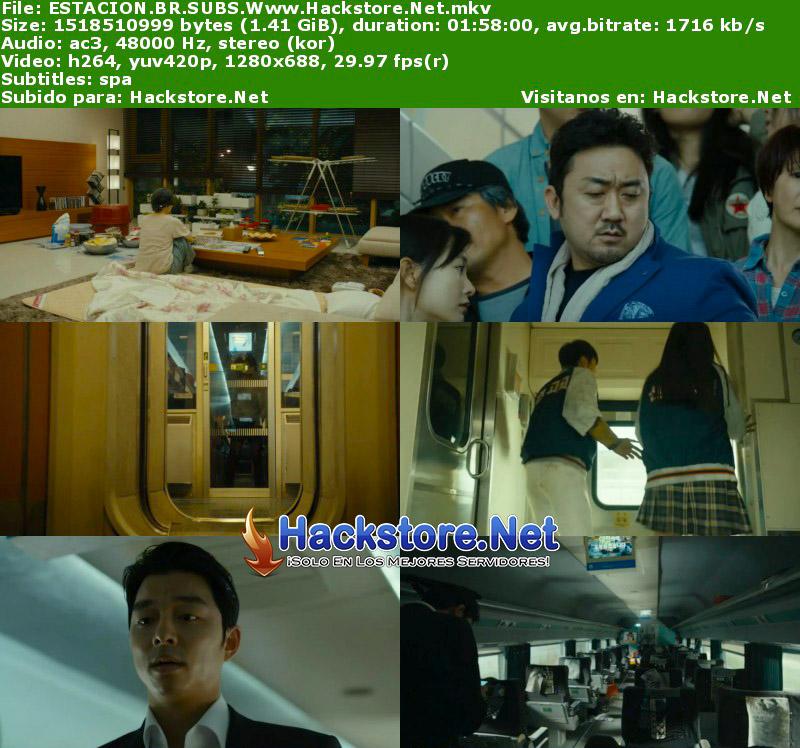 Capturas de Estación Zombie: Tren a Busan (2016) Blu-Ray RIP HD Subtitulada