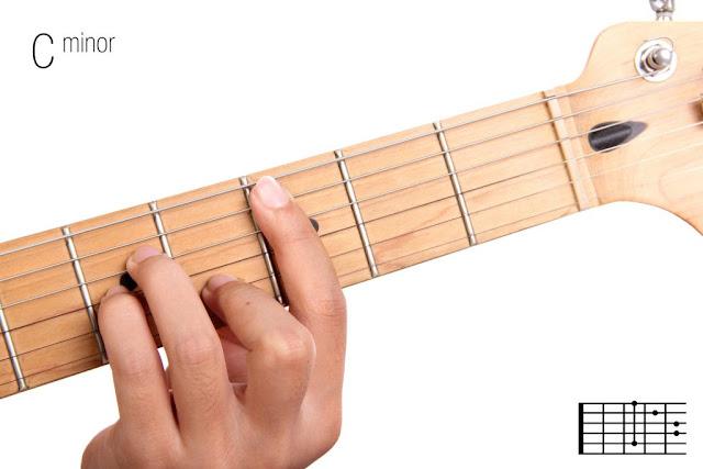 Belajar Chord Dan Kunci Gitar Dasar( Cm) Minor