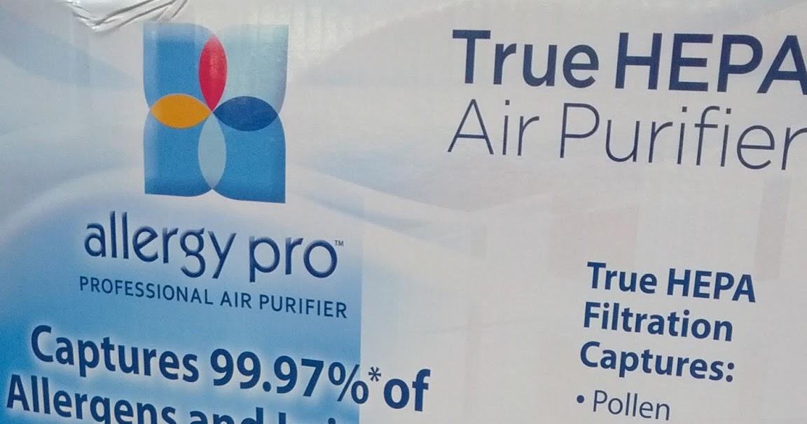 Envion Allergy Pro 450 True Hepa Filtration Professional Air Purifier Costco Weekender