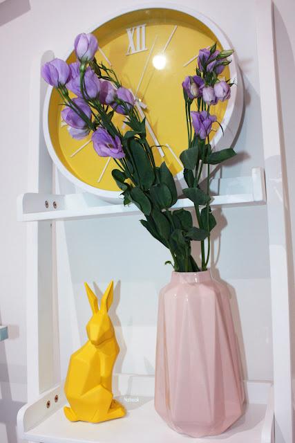 lapin et vase origami