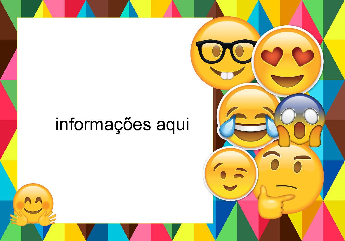 convites silverbeco  emojis