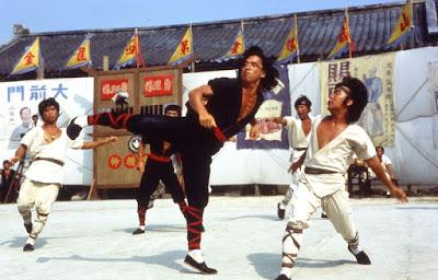 Escena película Jackie Chan - El maestro de los dragones
