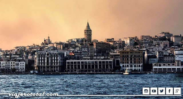 Torre Galata de Estambul, Turquía.