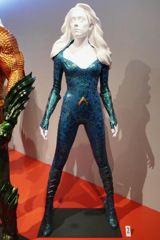 Amber Head Aquaman Mera movie costume