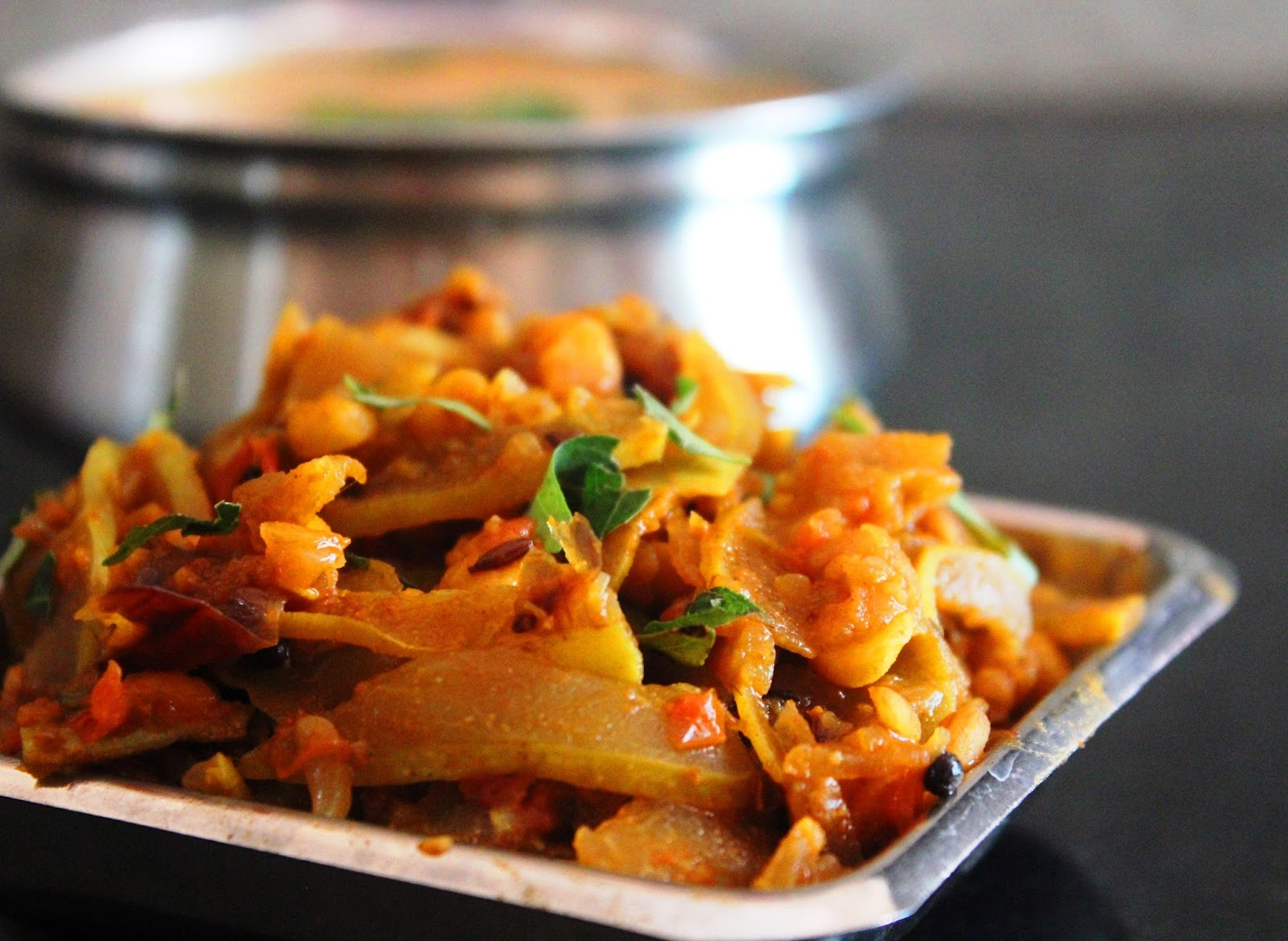 Masala Pudalangai (Spicy Snake-gourd Fry)