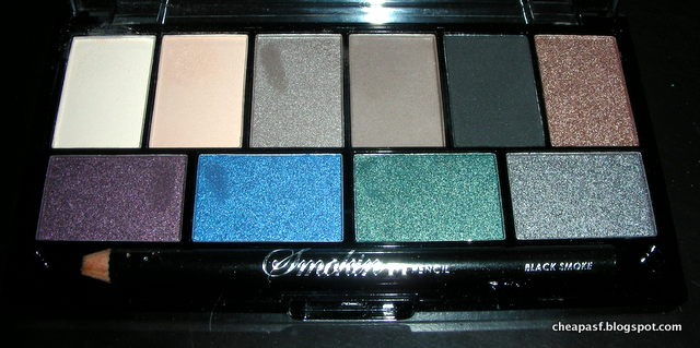 MUA Smokin Eyeshadow palette