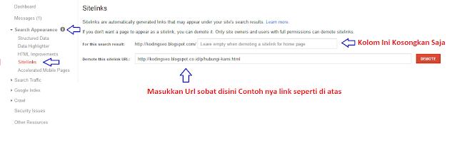 Cara Mendapatkan Sitelink Dari Google Dengan Mudah