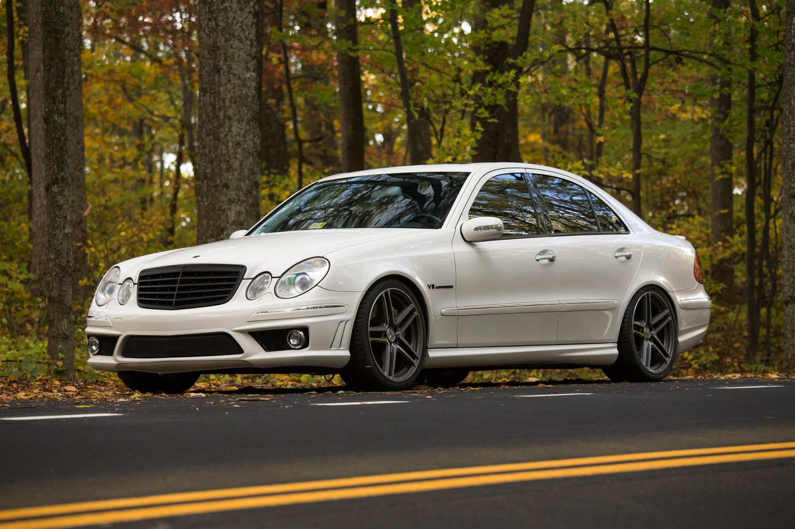 Mercedes Benz W211 E55 Amg On R19 Sport Edition St6 Wheels