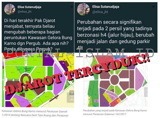 Tak Terendus Media, Jelang Lengser Djarot UBAH Peruntukan Sebagian Kawasan Gelora Bung Karno. Ada Apa?