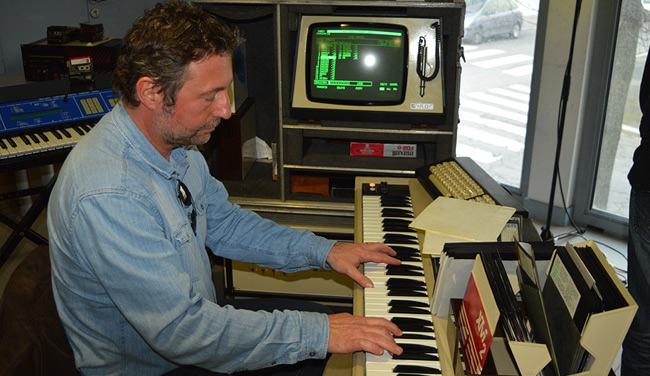 Sequentia Legenda (Laurent Schieber) and the Fairlight CMI