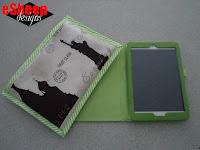 Tablet Envelope in Waxcloth by eSheep Designs