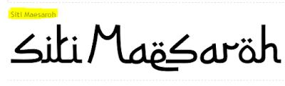 Kumpulan Font Edisi Ramadhan Dan Idul Fitri
