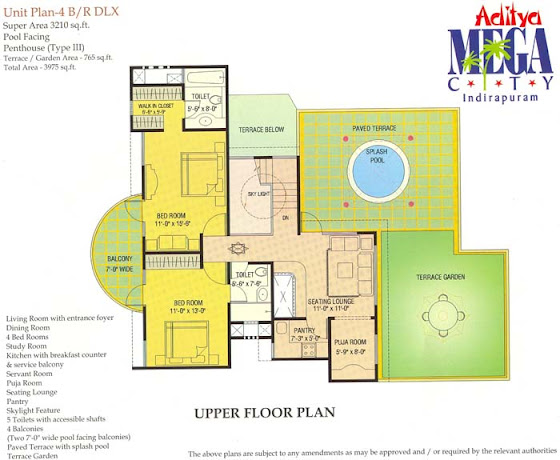 floor-plan-upper-floor-4bhk-penthouse-aditya-mega-city