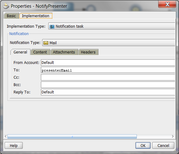 VENNSTER BLOG: Email notifications from BPMN processes using