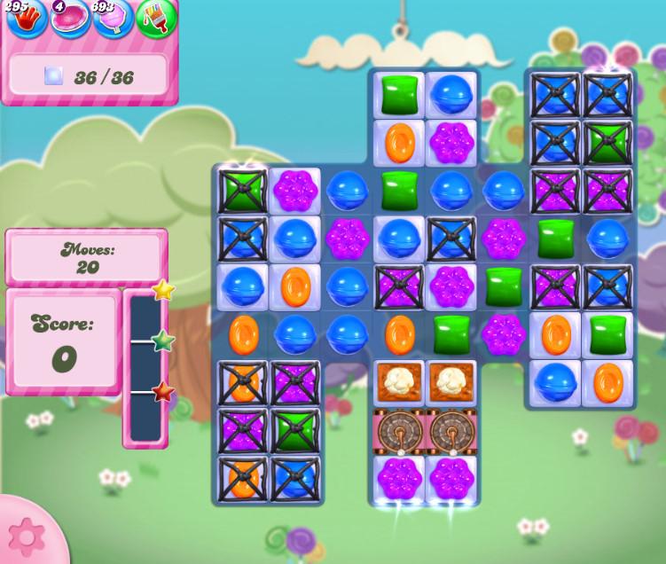 Candy Crush Saga level 2812