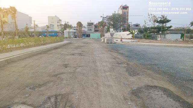 Đường giao thông Đ16 trong dự án Jamona Golden Silk quận 7