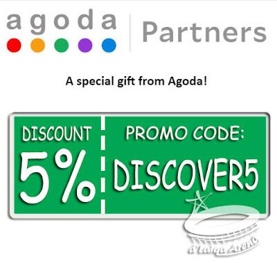 Diskon 5% Agoda