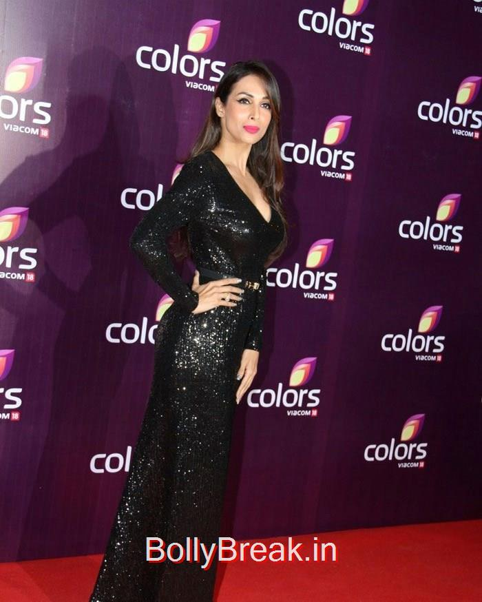 Malaika Arora Khan, Malaika Arora Khan Sridevi Hot HD Images At Colors Leadership Awards 2015