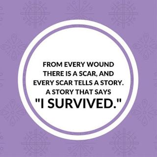 From every wound there is a scar and every scar tells a story that says i survived, Sweat today smile tomorrow quotes | Kwikk