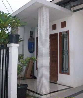 desain tiang rumah minimalis sederhana