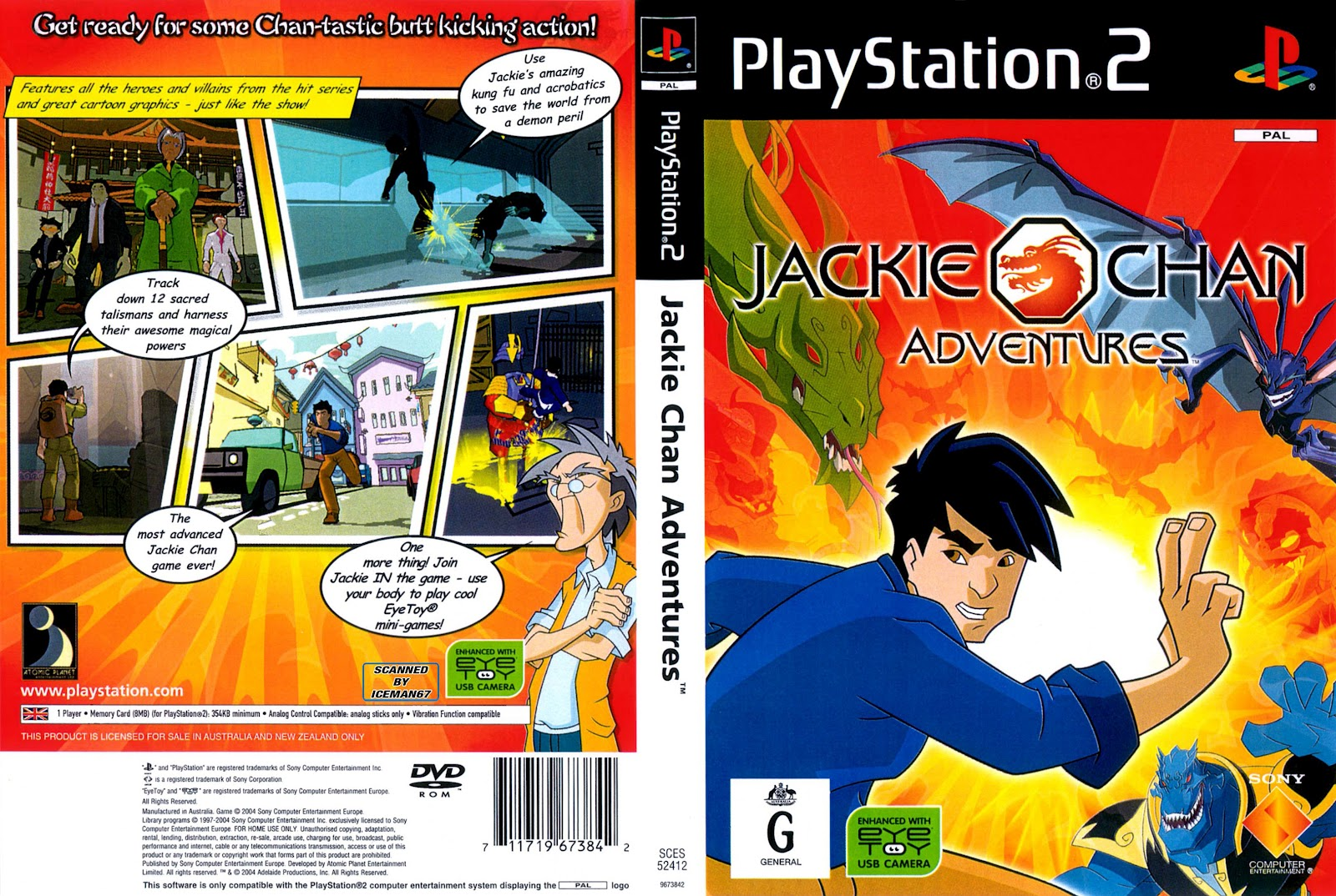 Jackie Chan Adventures Demon World