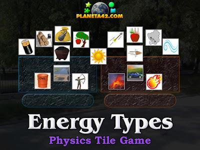 Energy Types Puzzle