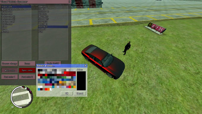 Visual Vehicle Spawner - GTA 4 Script mod - Description | HDN SHARE