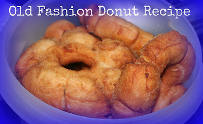 Old Fashion Donut Recipe & Bread Machine Donut Recipe