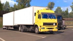 Kamaz truck mod 1.28