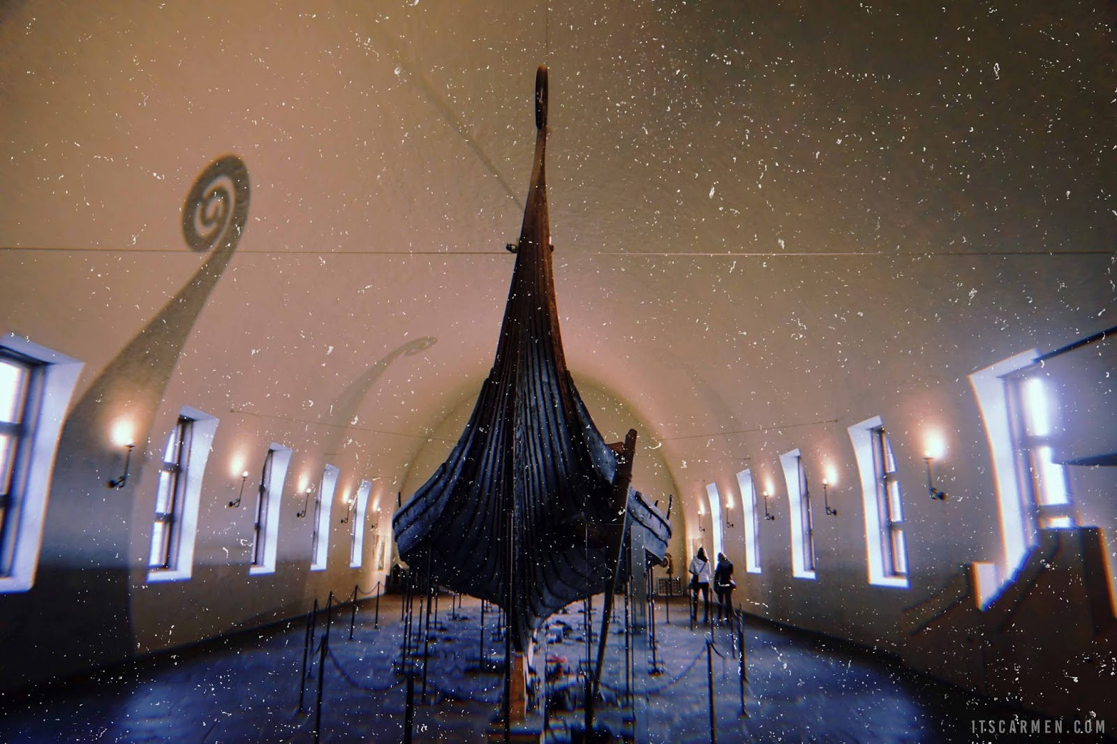 Gokstad & Oseberg Viking Ships at the Viking Ship Museum in Oslo