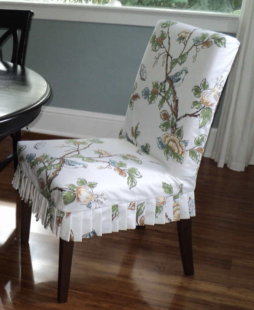 Slipcovers For Dining Room Chairs With Arms: Henriksdal Chair Slipcover Part Two: Making The Skirt