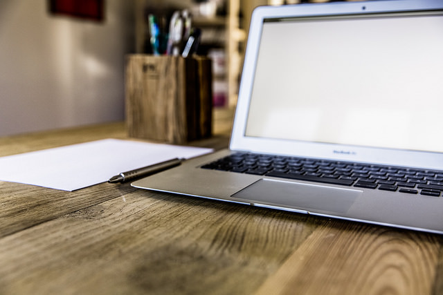 Working as website writer