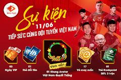 Cổ vũ đội tuyển bóng đá Việt Nam, nhận quà cực hấp dẫn