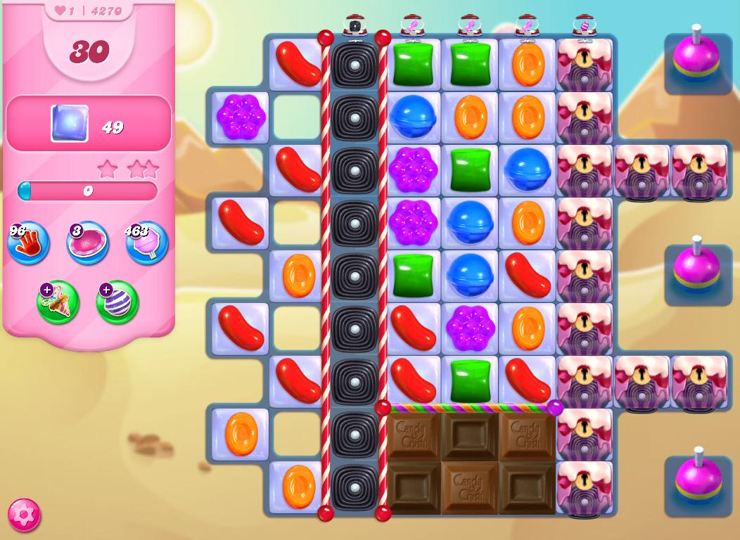 Candy Crush Saga level 4270