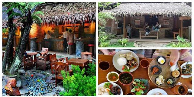Tempat Wisata Kuliner Kampung Daun Lembang Bandung