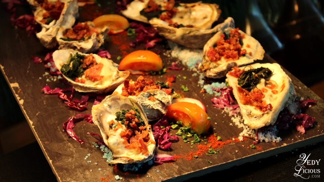 Baked Oyster Buffet at Spectrum Fairmont Hotel Makati Manila PH