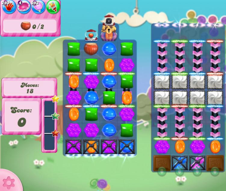 Candy Crush Saga level 2818