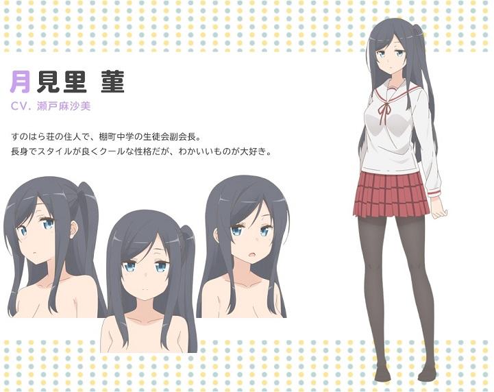 Sunoharasou no Kanrinin-san revela elenco adicional