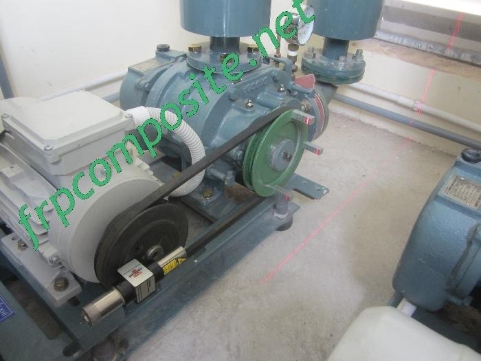 Canh chỉnh máy thổi khí hệ thống xử lý nước thải