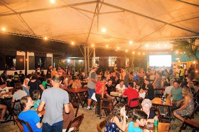 Palco 360 graus ,diversos ambientes, espaço gastronômico,  artesanato e shows fizeram o sucesso da Festa do Peixe da Ilha
