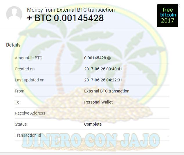 FreeBitcoin Pago-Recibido Xapo Dinero con Jajo